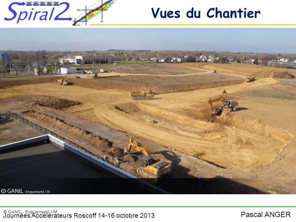 Vues du Chantier © GANIL - Enguerrand J-M