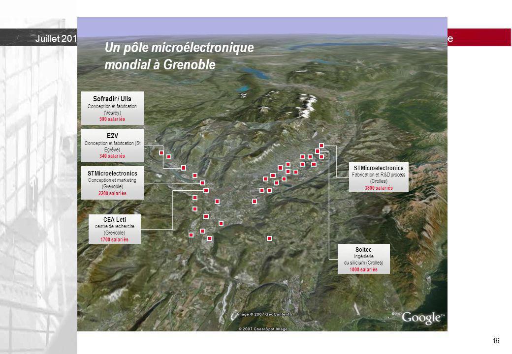 Un pôle microélectronique mondial à Grenoble