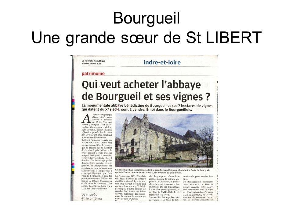 Bourgueil Une grande sœur de St LIBERT
