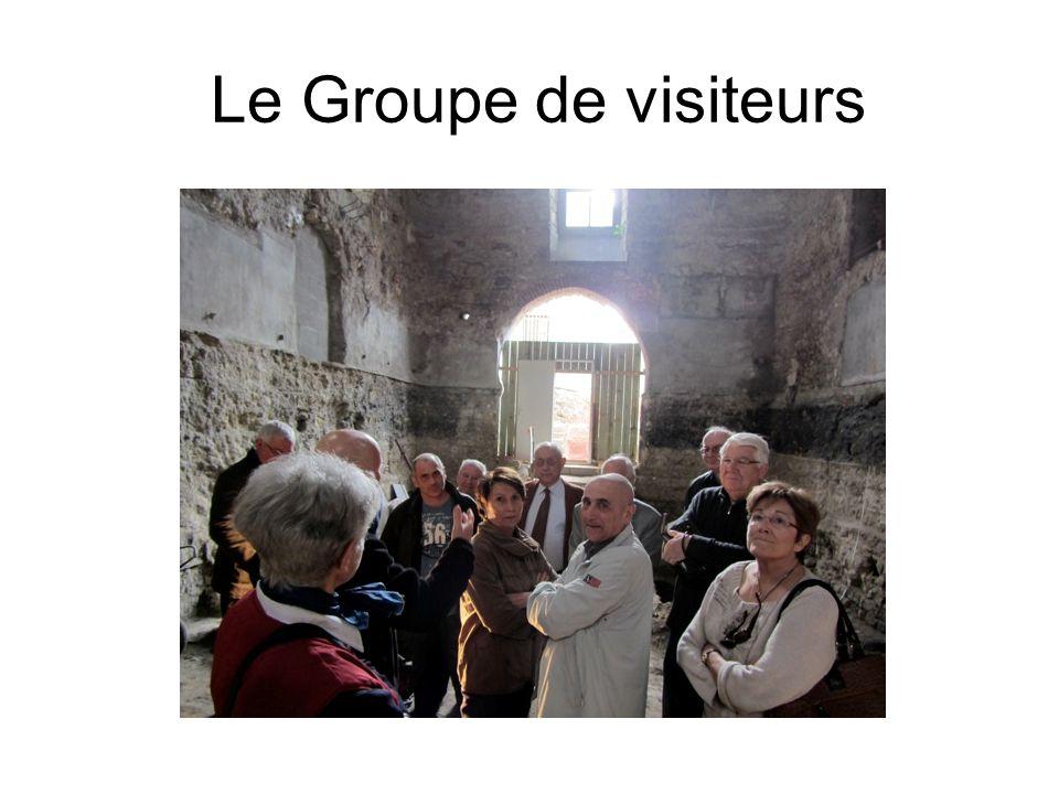 Le Groupe de visiteurs