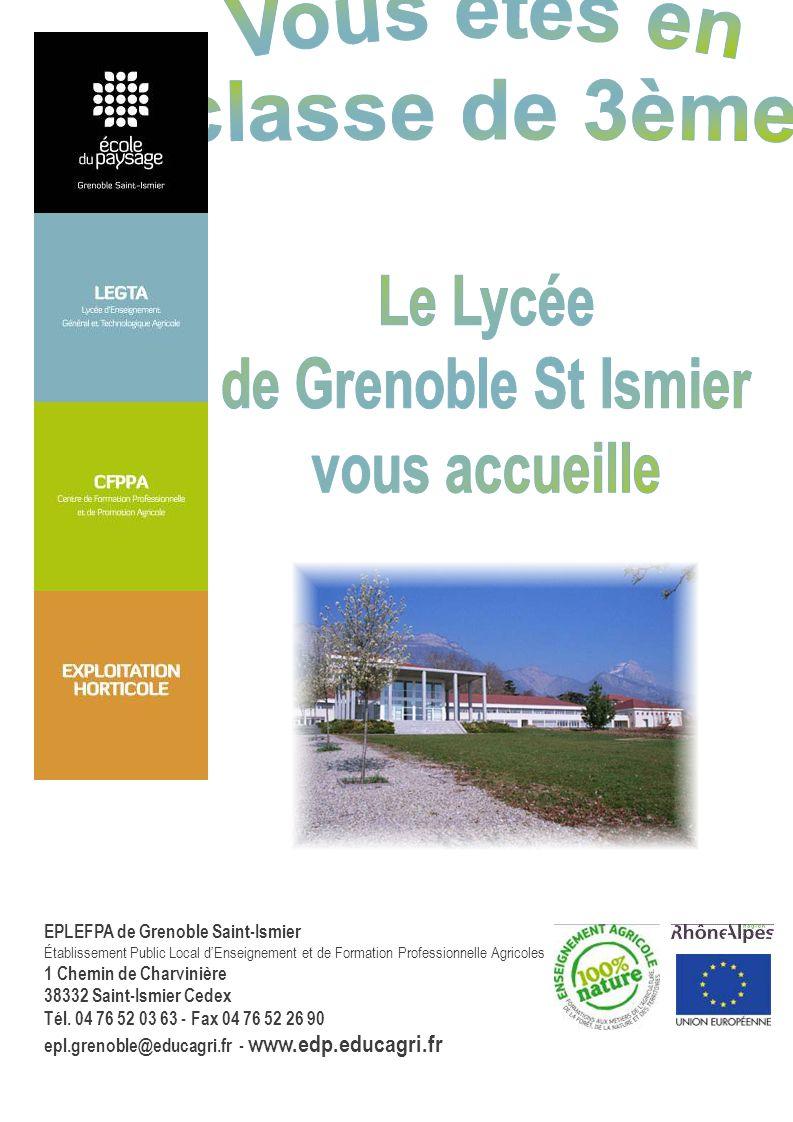 Le Lycée de Grenoble St Ismier vous accueille
