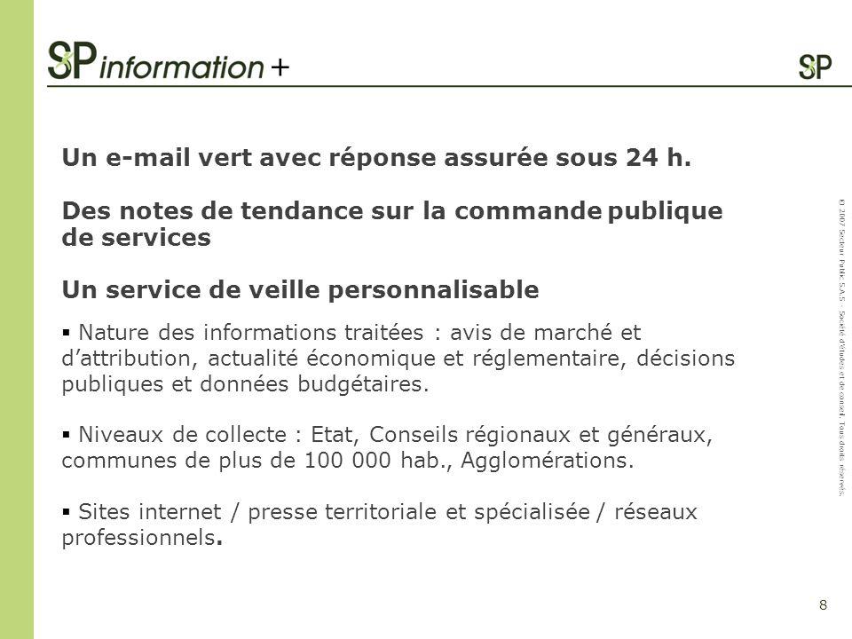+ Un e-mail vert avec réponse assurée sous 24 h.