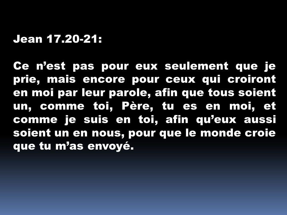Jean 17.20-21:
