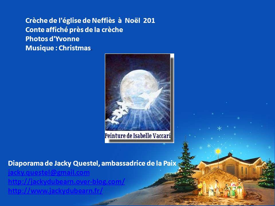 Crèche de l église de Neffiès à Noël 201