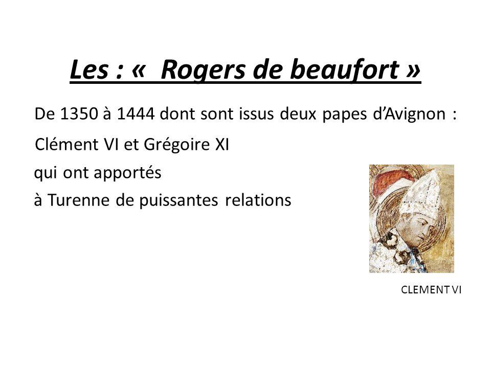 Les : « Rogers de beaufort »