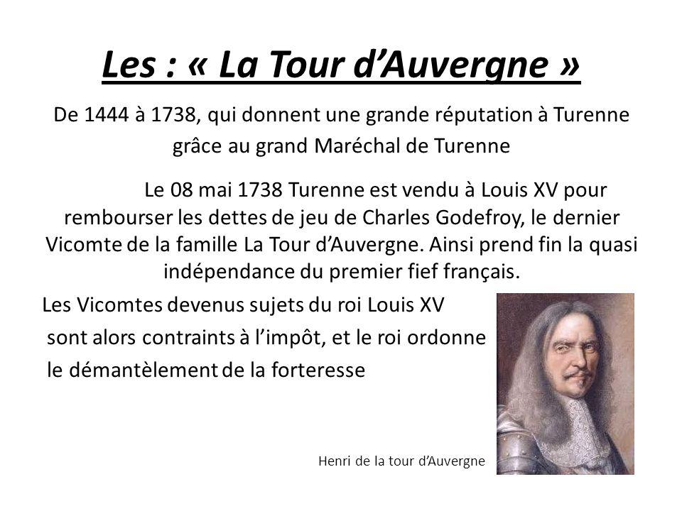 Les : « La Tour d'Auvergne »