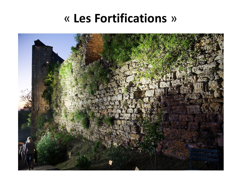 « Les Fortifications »
