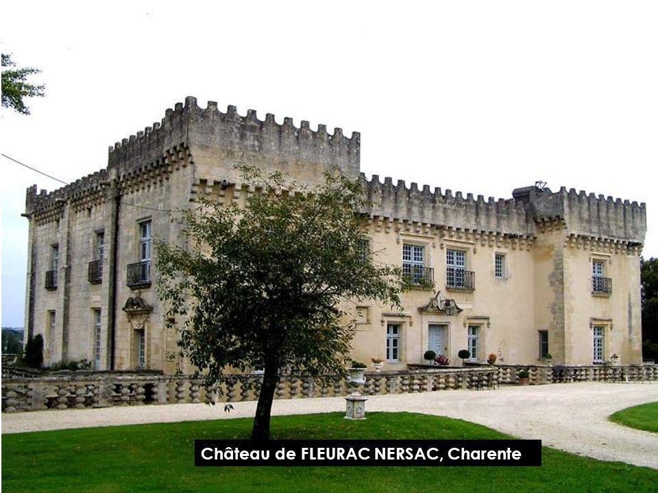 Château de FLEURAC NERSAC, Charente