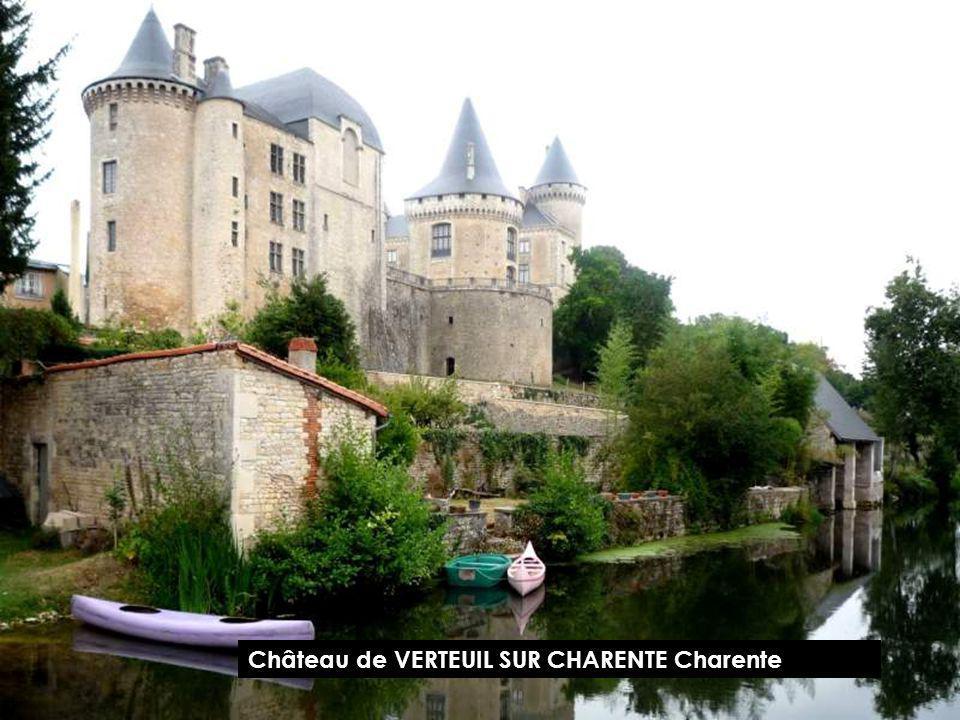 Château de VERTEUIL SUR CHARENTE Charente