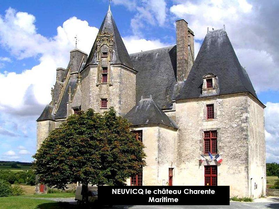 NEUVICQ le château Charente Maritime