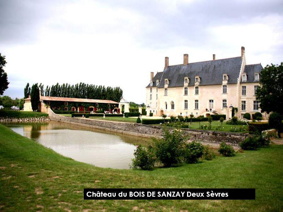 Château du BOIS DE SANZAY Deux Sèvres