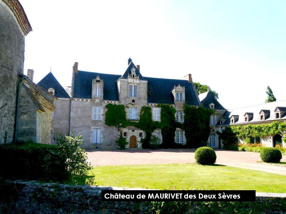 Château de MAURIVET des Deux Sèvres