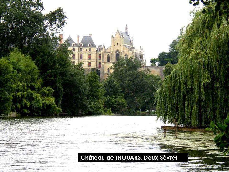 Château de THOUARS, Deux Sèvres