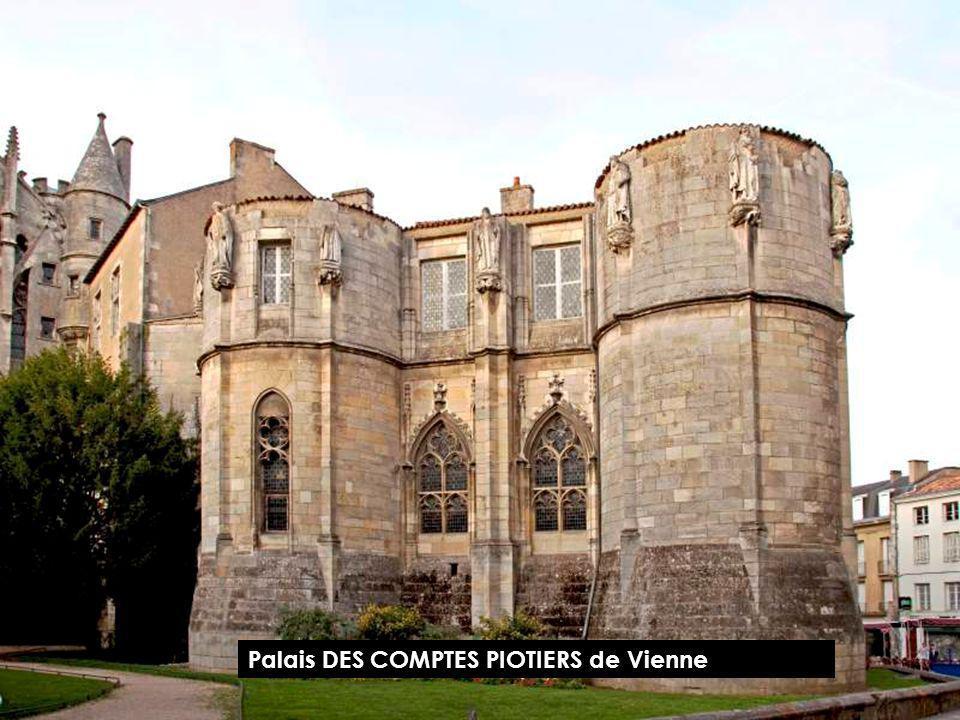 Palais DES COMPTES PIOTIERS de Vienne