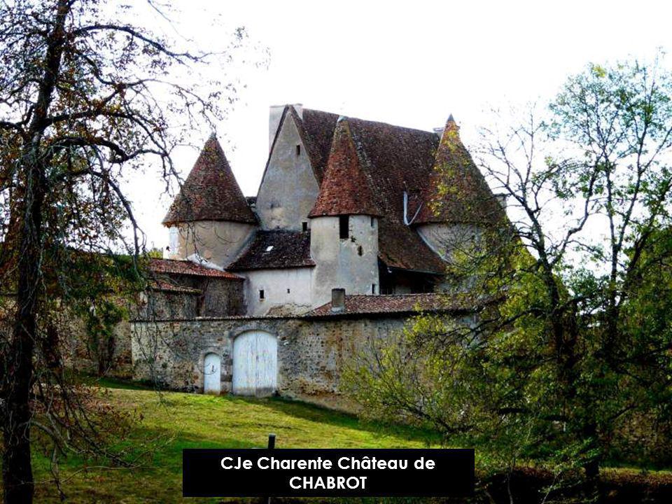 CJe Charente Château de CHABROT