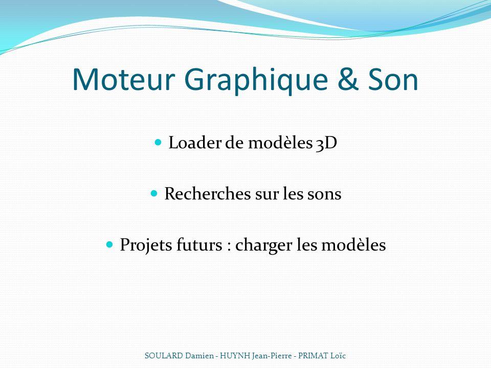 Moteur Graphique & Son Loader de modèles 3D Recherches sur les sons