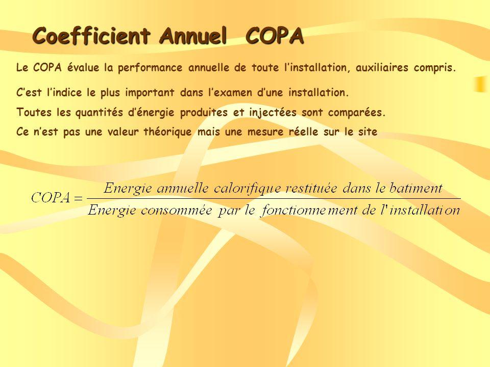 Coefficient Annuel COPA