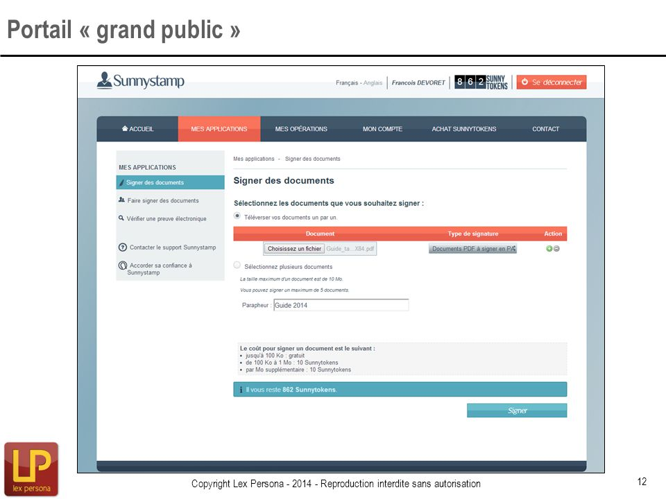 Portail « grand public »