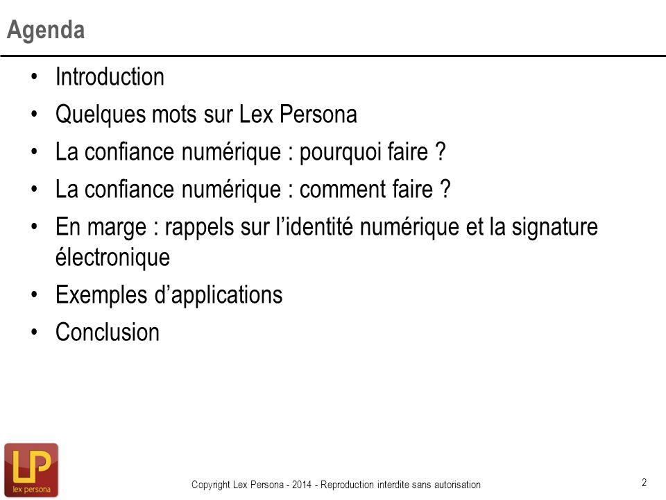 Quelques mots sur Lex Persona