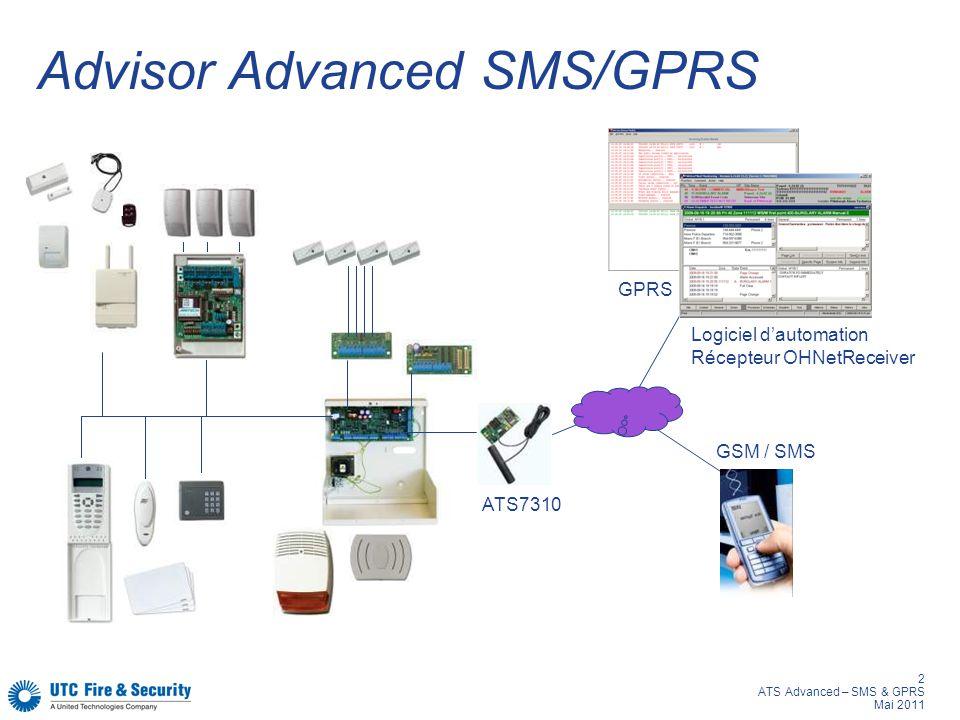 Advisor Advanced SMS/GPRS