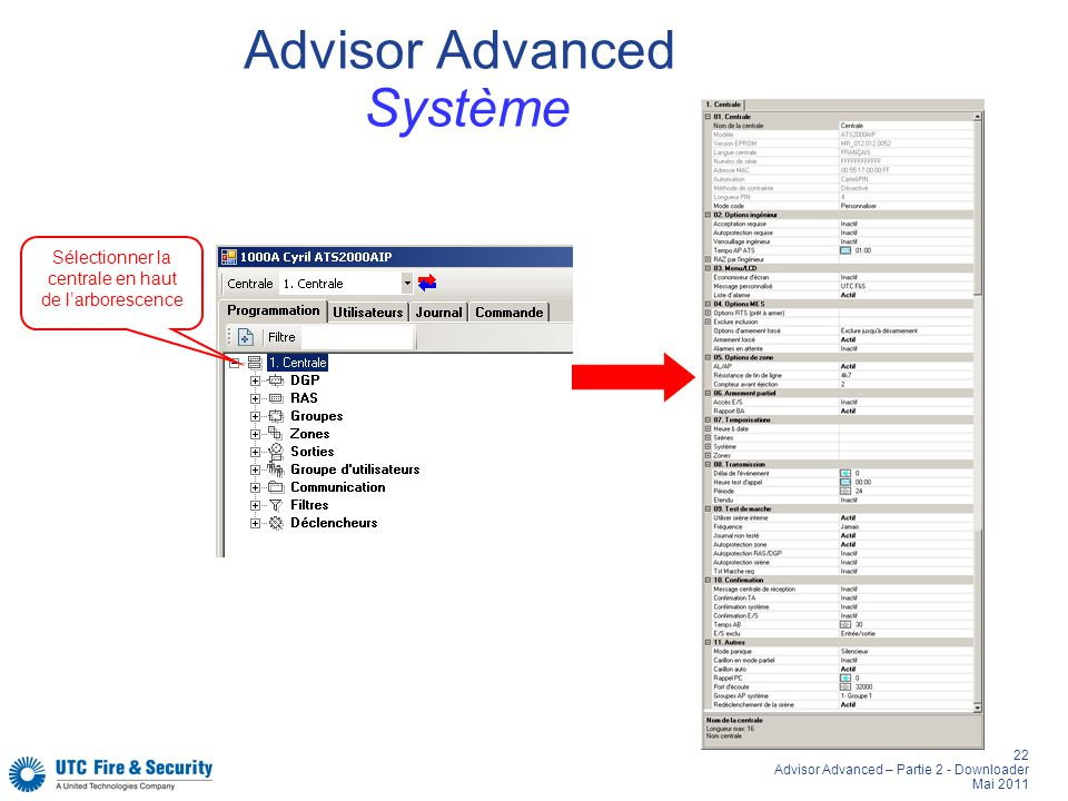 Advisor Advanced Système