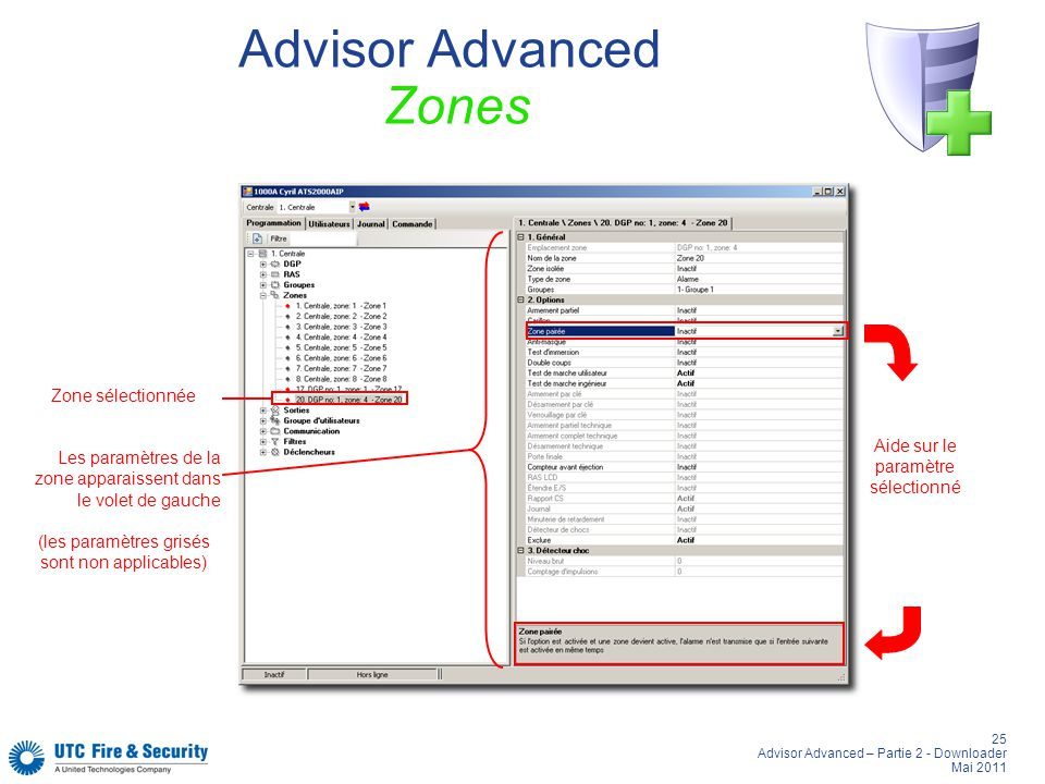Advisor Advanced Zones