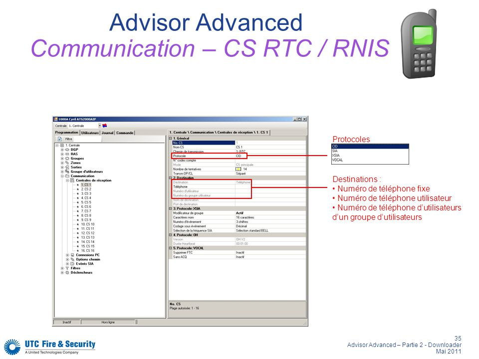 Advisor Advanced Communication – CS RTC / RNIS