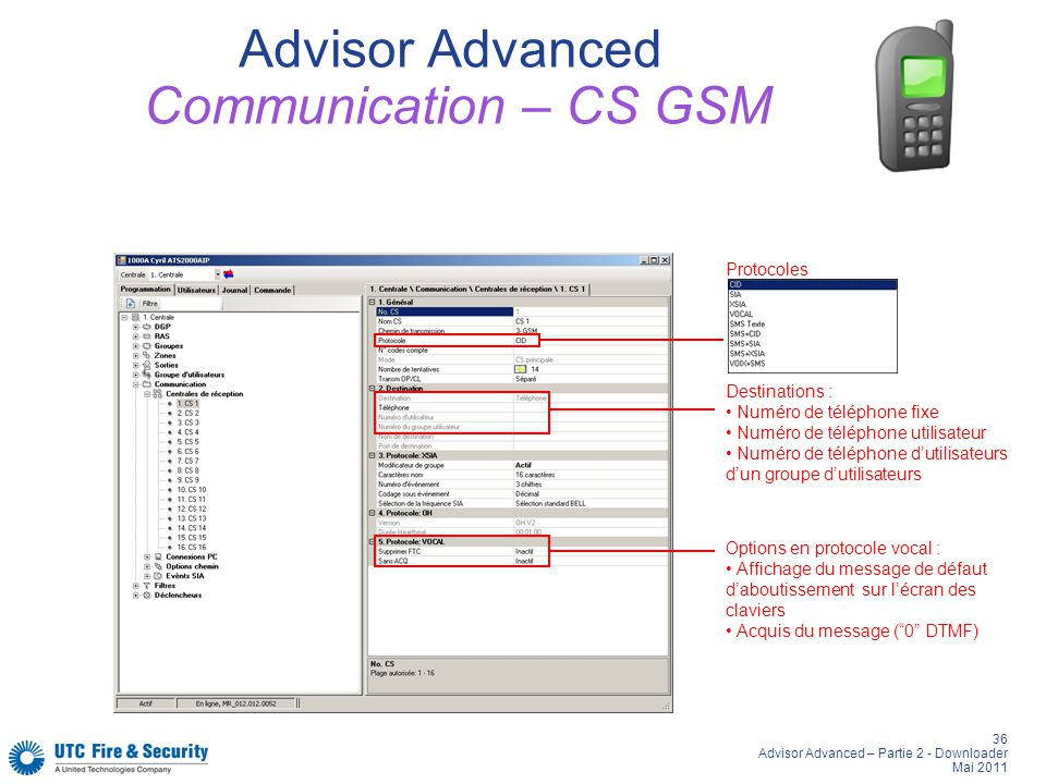 Advisor Advanced Communication – CS GSM
