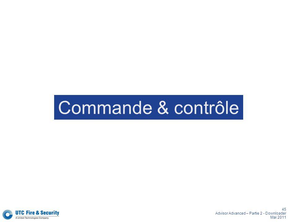 Commande & contrôle