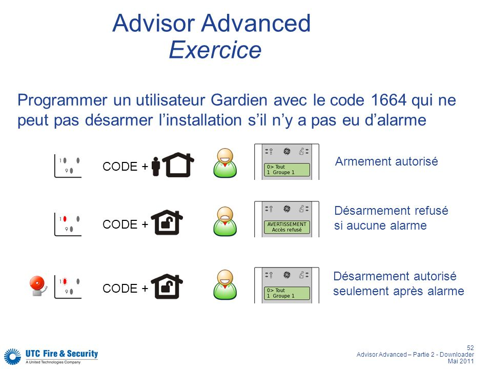 Advisor Advanced Exercice