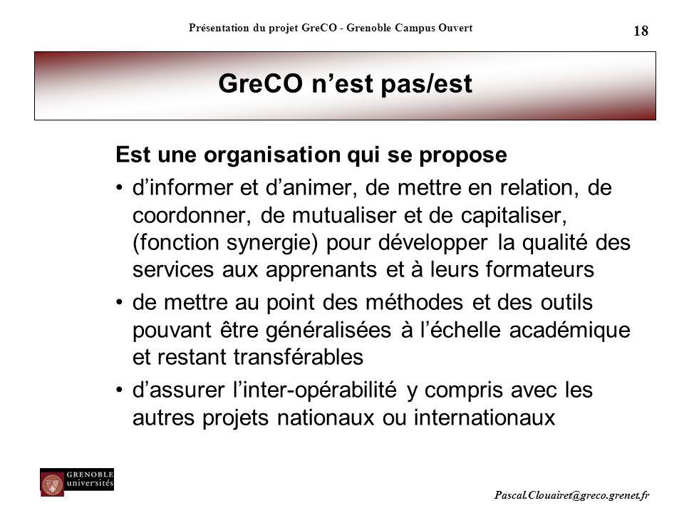 Présentation du projet GreCO - Grenoble Campus Ouvert