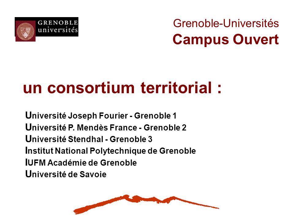 Grenoble-Universités Campus Ouvert