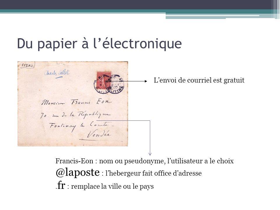 Du papier à l'électronique