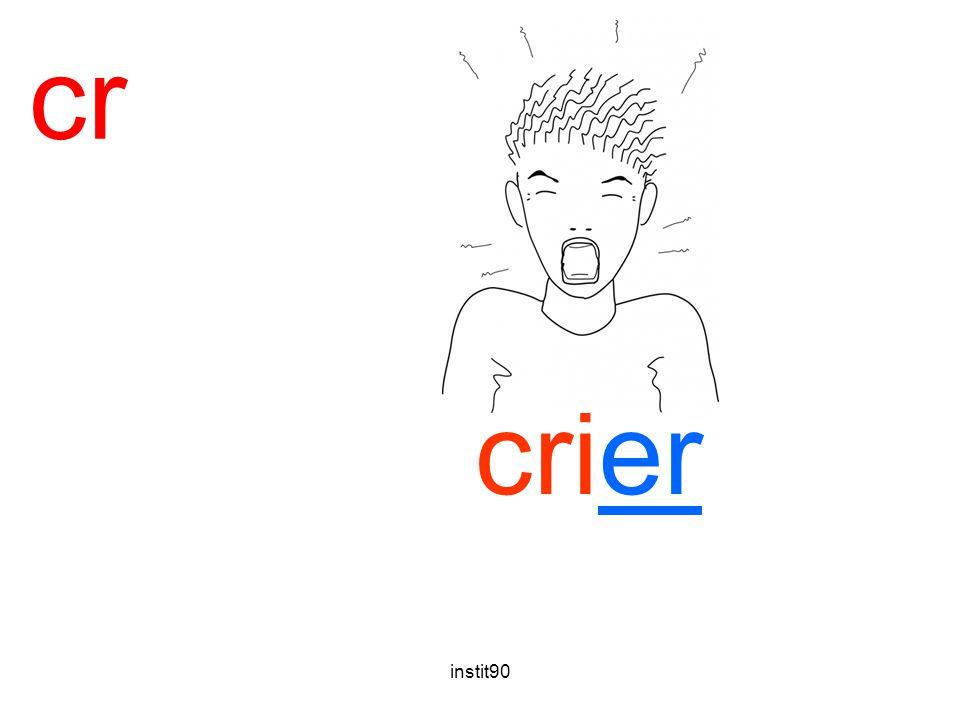 cr crier crier instit90