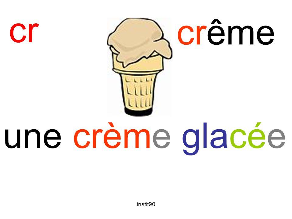 cr crême une crème glacée instit90