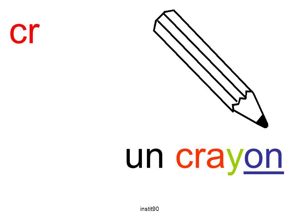 cr crayon un crayon instit90