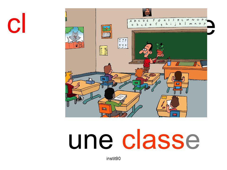 cl classe une classe instit90