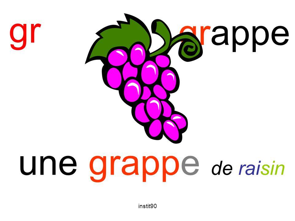 gr grappe une grappe de raisin instit90