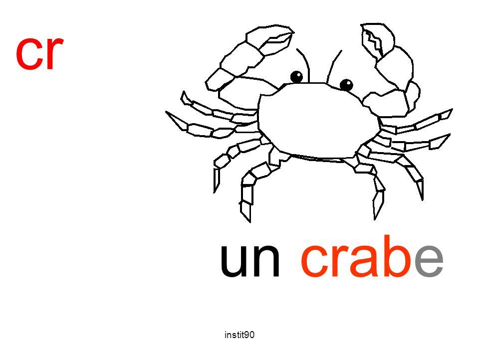 cr crabe un crabe instit90