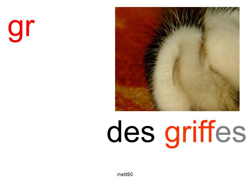 gr griffes des griffes instit90