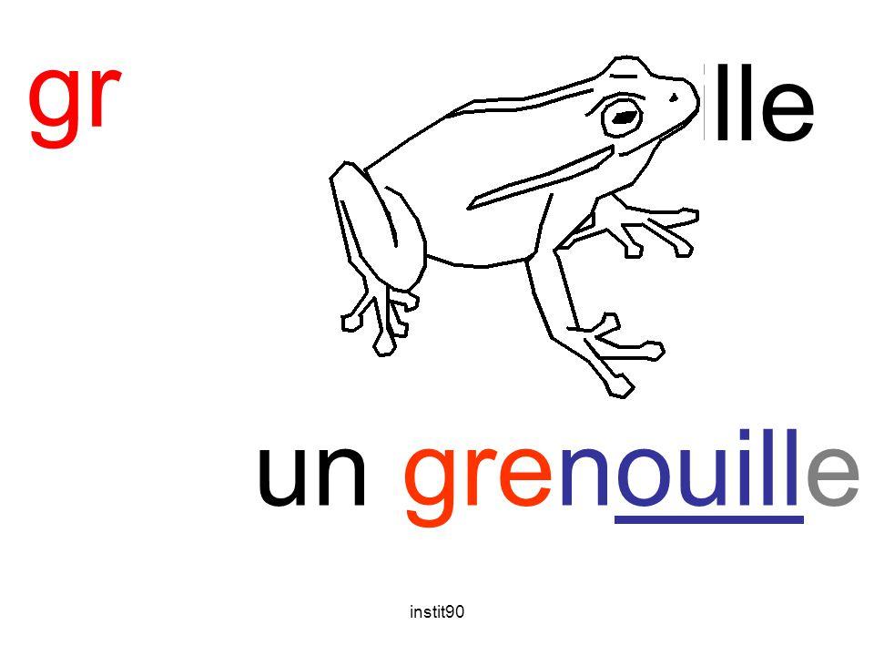 gr grenouille un grenouille instit90