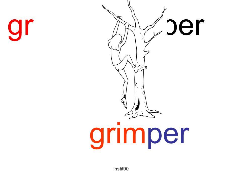 gr grimper grimper instit90