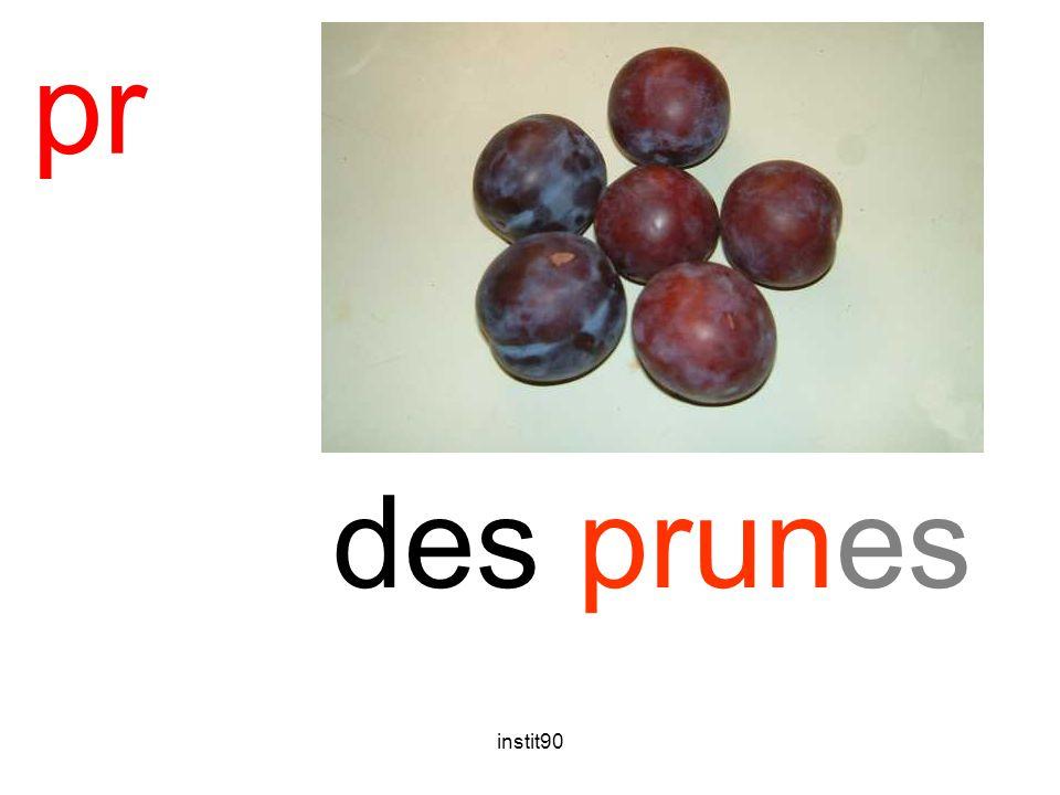 pr prune des prunes instit90