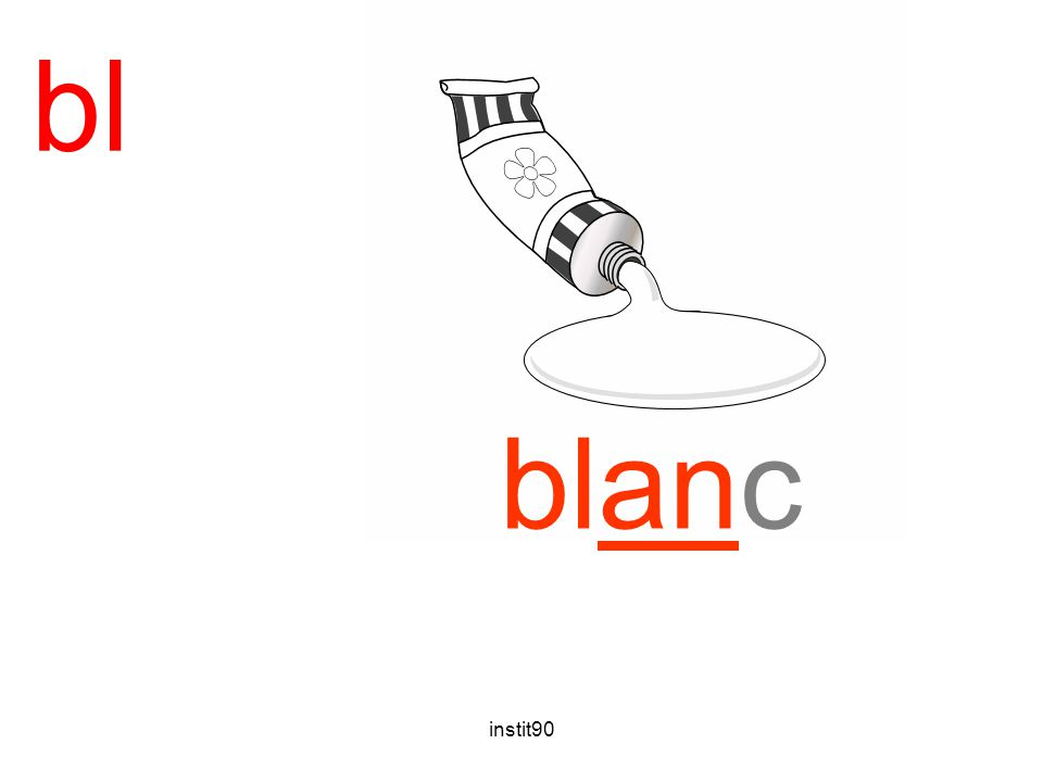 bl blanc blanc instit90