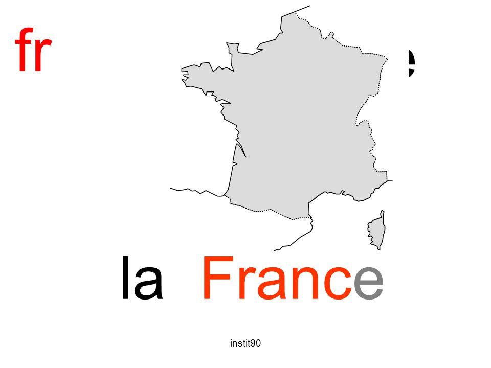 fr France la France instit90