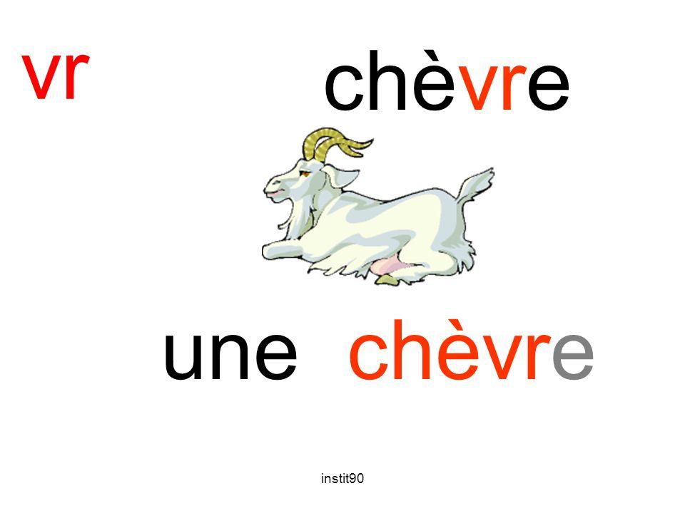 vr chèvre une chèvre instit90