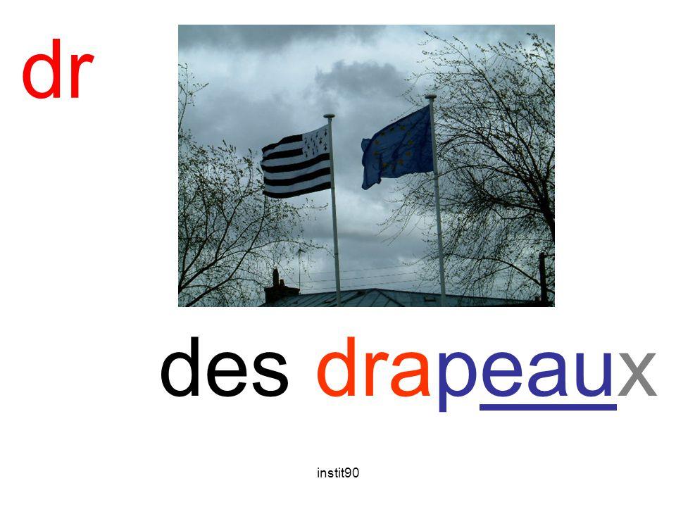 dr drap des drapeaux instit90