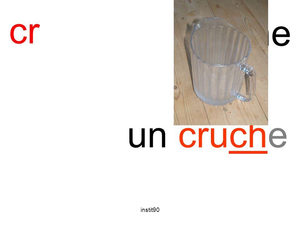 cr cruche un cruche instit90
