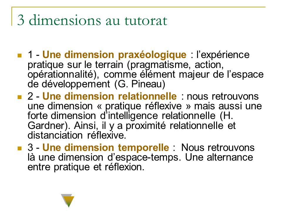 3 dimensions au tutorat