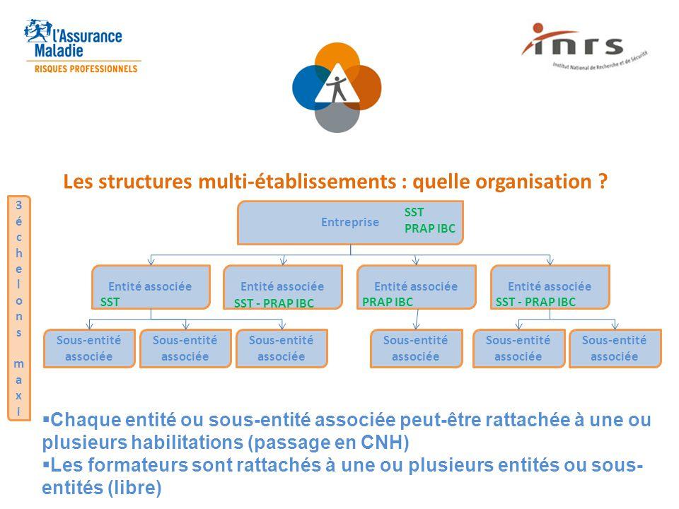 Les structures multi-établissements : quelle organisation